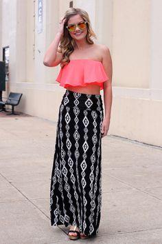 Dusk 'Til Dawn Maxi Skirt