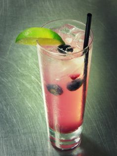 Have you tried our Blueberry Lime Rickey yet from The Bristol Bar? #FSTaste