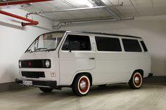 Volkswagen T3 Transporter Van white #VW