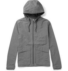 Folk Hooded Cotton-Blend Shell Jacket | MR PORTER