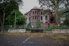 UK, Preston, Lancashire -  Whittingham Asylum - It is planned to build 650 new homes on the site and to convert some of the hospital buildings for use as apartments.