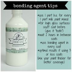 MMSMP | BONDING AGENT | Miss Mustard Seeds Milk Paint