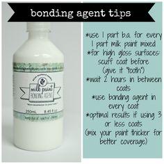 MMSMP | BONDING AGENT | Miss Mustard Seeds Milk Paint