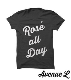 Rose All Day Tee by TheAvenueL on Etsy