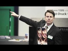The complete on stand presentation for Fujifilm's Jet Press 720S at drupa 2016