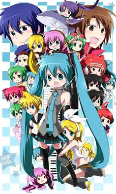 初音ミク:Vocaloid: We love music! Kaito, Hatsune Miku, Vocaloid Characters, Some Pictures, Me Me Me Anime, Otaku, Anime Art, Pokemon, Japan