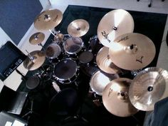 Drum kit.