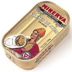 Filetes de Atum em Azeite - Minerva - Continente Online