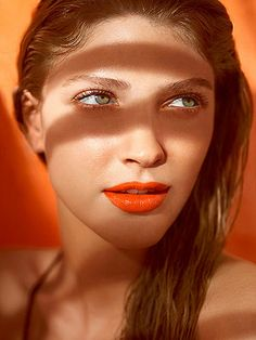 5 summer beauty trends we love, like juicy orange lips
