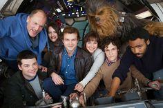 Alden Ehrenreich and the cast of the Han Solo movie #StarWars #HanSolo #AldenEhrenreich