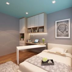 Compact Study Room Designs To Help Your Kids Study Compact Study Room Designs To Help Your Kids Study Study Table Designs, Study Room Design, Kids Study Table Ideas, Study Tables, Small Study Table, Home Office Furniture, Home Office Decor, Home Decor, Office Ideas