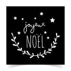 adhésifs-Noël-N&B10                                                                                                                                                                                 Plus Noel Christmas, Christmas Quotes, Christmas Pictures, White Christmas, Christmas Crafts, Christmas Decorations, Christmas Ideas, Christmas Templates, Chalkboard Art