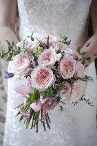 David Austin Wedding Rose Keira Cottage Garden Bridal Bouquet