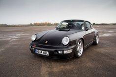 Porsche 964 Allows for Fast Escape - Photography by John Rampton