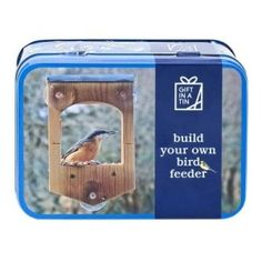 BUILD YOUR OWN BIRDFEEDER - Calling all bird lovers! What's better than a bird feeder? - One that you've built yourself! Complete with suction pads, you can attach the feeder to your window and watch from inside your home. Toys Online, Practical Gifts, Little Birds, Build Your Own, Craft Kits, Educational Toys, Home Gifts, Cool Toys, Bird Feeders