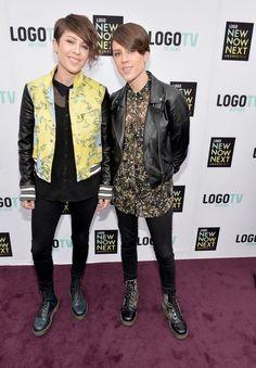 Fashion At The 2013 NewNowNext Awards (Tegan and Sara)