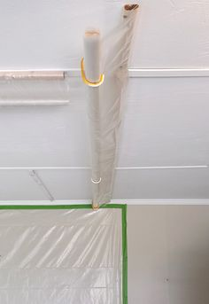 DIY Garage Paint Booth | http://heartsandsharts.com/diy-garage-paint-booth/