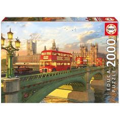 PUENTE DE WESTMINSTER LONDRES 2000 PIEZAS Dimensiones: 96 x 68 cm. Su referencia es: 16777. Sale a 12,50€