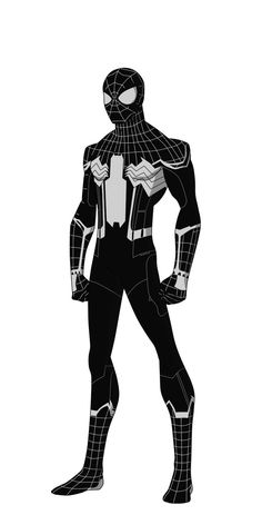 Spider-Man black suit reqest by shorterazer.deviantart.com on @DeviantArt
