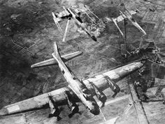 Star Wars in History X-Wings escorting the Do Little Raid, WWII