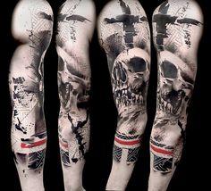 Hoje conheceremos as incríveis tatuagens da dupla Volko Merschky e Simone Pfaff, do estúdio Buena Vista Tattoo Club, em Wurtzburgo, Alemanha. Confira!