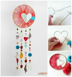 The dream catcher is a handmade craft originated from the Native American culture It is a woven net or web decorated with certain materials such as shells leather beads g. Fun Crafts, Diy And Crafts, Crafts For Kids, Arts And Crafts, Diy Dream Catcher For Kids, Making Dream Catchers, Los Dreamcatchers, Craft Tutorials, Diy Projects