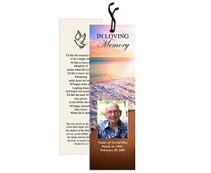 create online funeral programs, funeral program templates ...