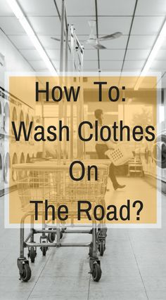How to wash clothes on the road while traveling. It does not matter if you're staying at a five star resort on a two-week vacation or a budget option accommodation during a long-term trip, dealing with laundry while traveling is something you will have to address. Click to read more at http://www.divergenttravelers.com/guide-for-doing-laundry-while-traveling/