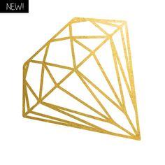 2 PACK Gold Diamond
