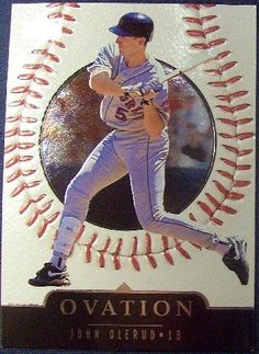 1999 Upper Deck Ovation 8 John Olerud Baseball Cards *** See this great product.