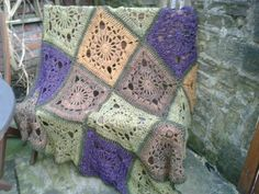 My crochet throw