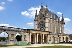 Photo: La Sainte-Chapelle - Castle of Vincennes