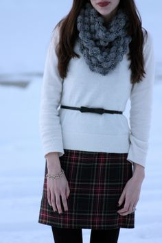 Classy Winter Chic.