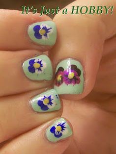 My mom would love it if I could do Pansies.