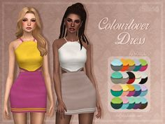 ✩ Trillyke ✩ | Colourlover Dress I always wanted to make a dress...