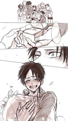Levi marriage proposal to Eren, Ereri