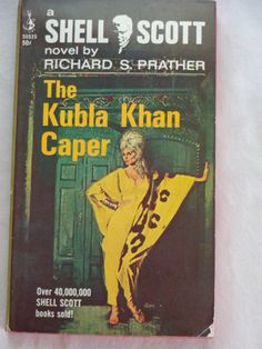 Vintage Shell Scott Paperback The Kubla Khan by TreasureTroveBooks, $4.95