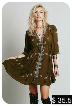 boho dress 2016 Women Bohemian Long Dress Spring Summer Loose Deep V Neck Sexy Retro white boho people hippie Dresses-in Dresses from Women's Clothing & Accessories on Aliexpress.com | Alibaba Group