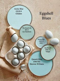 Paint Color Forecast Eggshell Blue paint colors via . I just love shades of blue for summer.Eggshell Blue paint colors via . I just love shades of blue for summer. Blue Paint Colors, Interior Paint Colors, Paint Colors For Home, Wall Colors, House Colors, Color Blue, Interior Design, Teal Paint, Interior Ideas