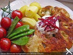 Blumenkohl - Schnitzel, ein raffiniertes Rezept aus der Kategorie Braten. Bewertungen: 82. Durchschnitt: Ø 4,3.
