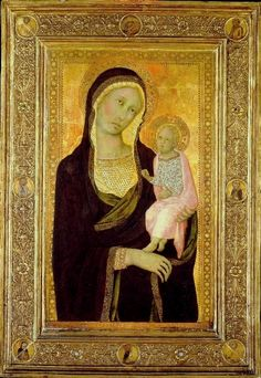 Naddo Ceccarelli (documented 1347, active c. 1330–60) was a 14th-century Italian painter of the Sienese School.  - Чеккарелли, Наддо — Википедия
