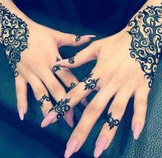 Eid Mehndi-Henna Designs for Girls.Beautiful Mehndi designs for Eid & festivals. Collection of creative & unique mehndi-henna designs for girls this Eid Henna Mehndi, Henna Ink, Henna Body Art, Mehndi Tattoo, Henna Tattoo Designs, Mehendi, Mehndi Dress, Arabic Mehndi, Mehandi Designs
