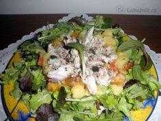 kuraci salat s rukolou