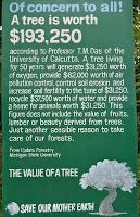 Green Technology: The Value of a Tree - worth $193,250