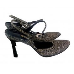 Sandali Giorgio Armani Atelier Versace, Gianni Versace, Giorgio Armani, Kitten Heels, Belt, Sandals, Shoes, Fashion, Belts