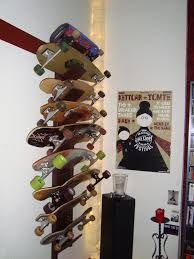 Image result for longboard storage ideas