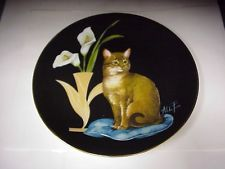 Cleo Sophisticated Cat Ladies Aldo Fazio 8 5 Fine Collector Plate D 1312 Catio, Cat Lady, The Collector, Decorative Plates, Animals, Cat Design, Art, Dishes