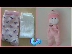 Zengin Hayaller Dükkanı - YouTube Diy Doll Easy, Youtube Dolls, Hand Embroidery Dress, Diy Barbie Clothes, Yarn Dolls, Sock Toys, Diy Crafts For Gifts, Fondant Figures, Cute Toys
