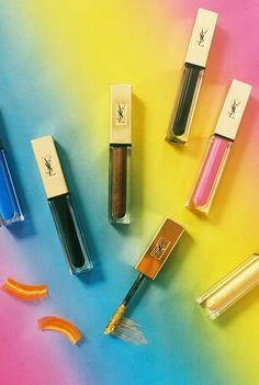 With a new nine-piece collection of electric-hued mascaras, YSL Beauté takes Technicolor eyes to the next level.