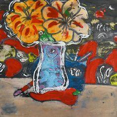 tempera resist P. C. K. C .S. Art Room in Middle School: Tempera Resist with Ink-Fauve Style